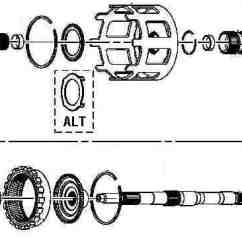 Diagram For 700r4 Trans Ezgo Marathon Gas Golf Cart Wiring 4l60e Assembly