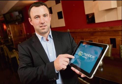 Connecting People: Peadar Gormley is the chief executive of MyPlace Connect, a company that offers free wi-fi in various spots around Ireland.