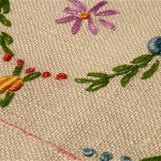 Ironing Vintage Linens