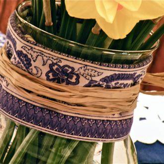 Daffodils & Blue