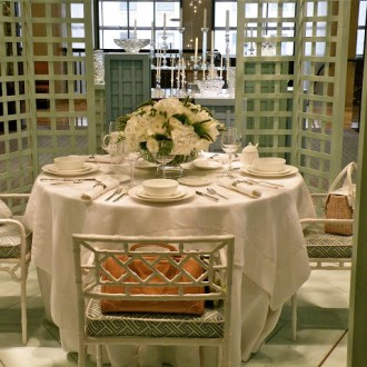 NYC Tablescapes: What Color is Tiffany Blue?