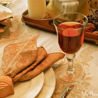 Tablescape: Inspired by Caramel & Cream …