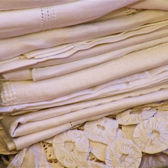 STORAGE: How to Care for Vintage Linens & Lace