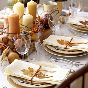 Tablescape Inspiration: Caramel & Cream
