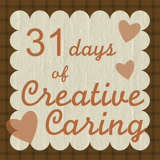 BEYOND OURSELVES: Day 31 of 31 Days of Creative Caring