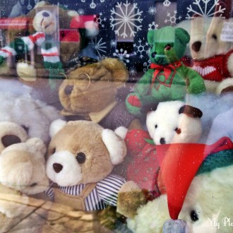 Teddy Bears:  A Christmas Theme