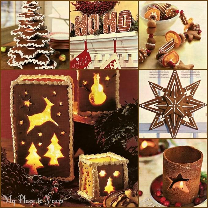 Rustic gingerbread Xmas