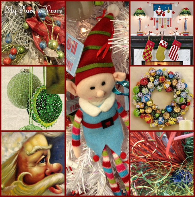 Whimsy Christmas Aqua