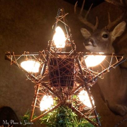 Woodland Christmas star