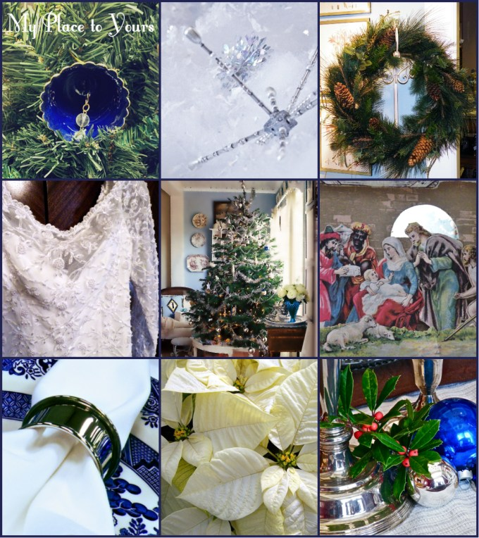 Xmas Blue Wedding