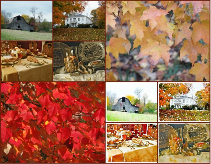 1.Fall collage