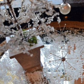 Winter Magic Tablescape