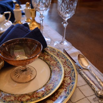 TABLE FOR TWO:  Happy Anniversary, Renaissance Man