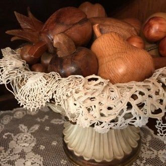 DISAPPEARING DOILIES:  Packing away Yesterday's treasures