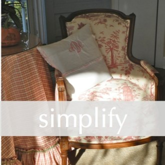 SIMPLIFY:  Five Minute Friday
