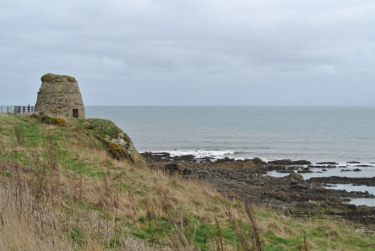 A doocot along the Firth of Forth in Scotland.