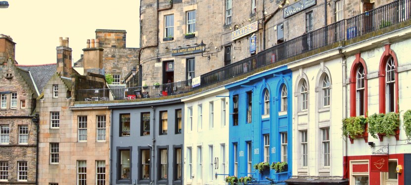 Victoria Street-The Grande Dame of Edinburgh's Old Town
