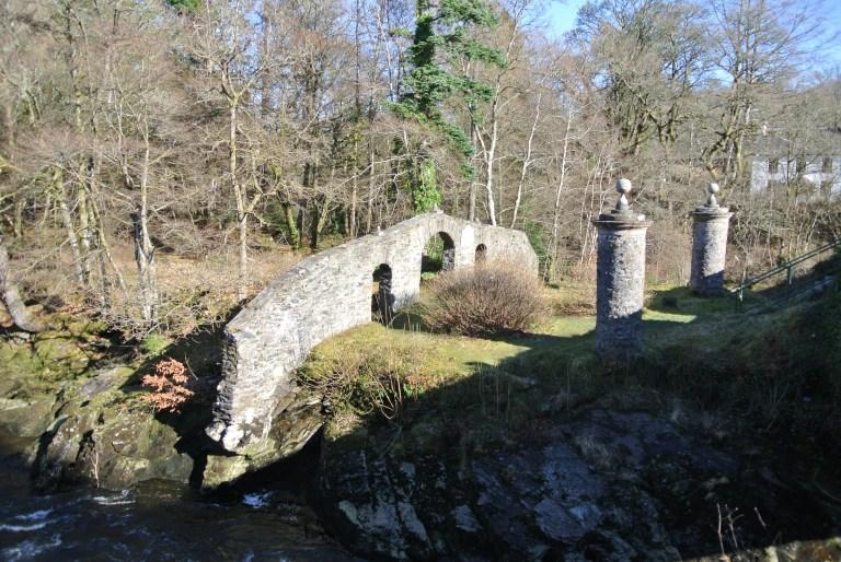 Clan MacNab burial ground.
