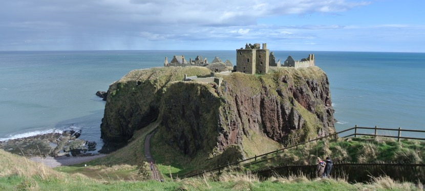 Dunnottar Castle on Scotland's Northeast Coast