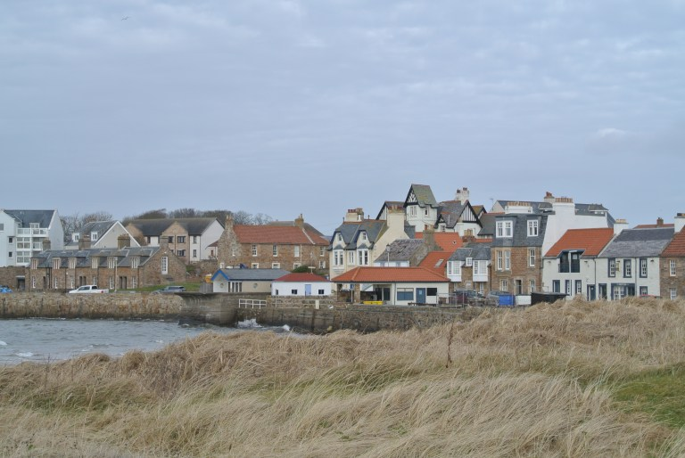The village of Elie, Scotland.