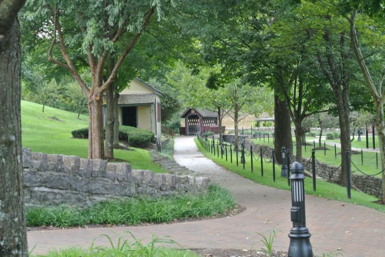 A park-like setting.