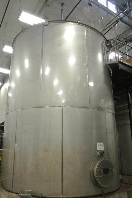 A massive fermenting tank.