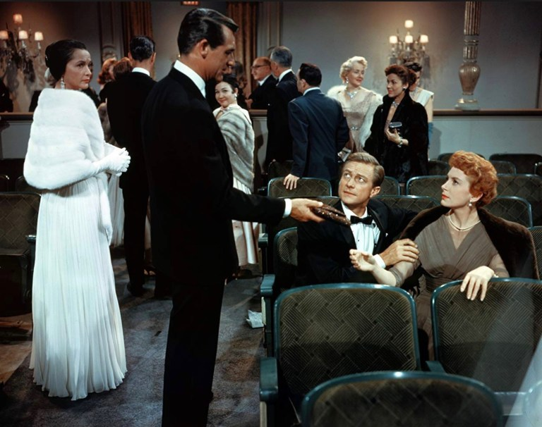 Theater scene from the movie An Affair to Remember.