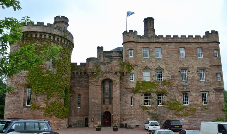 Front of Dalhousie Castle.