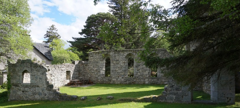 Laggan Free Church-A Ruin in Scotland's Cairngorms