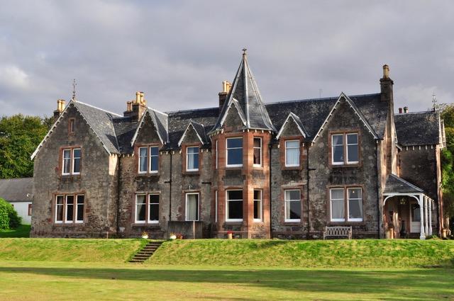 Shieldaig Lodge in Gairloch, Wester Ross, Scotland.