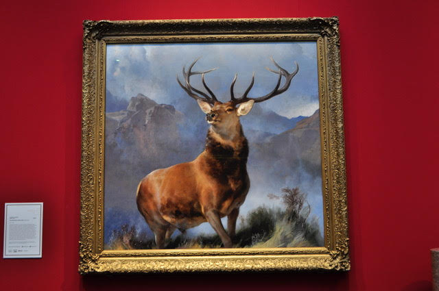 The Monarch of the Glen painting.