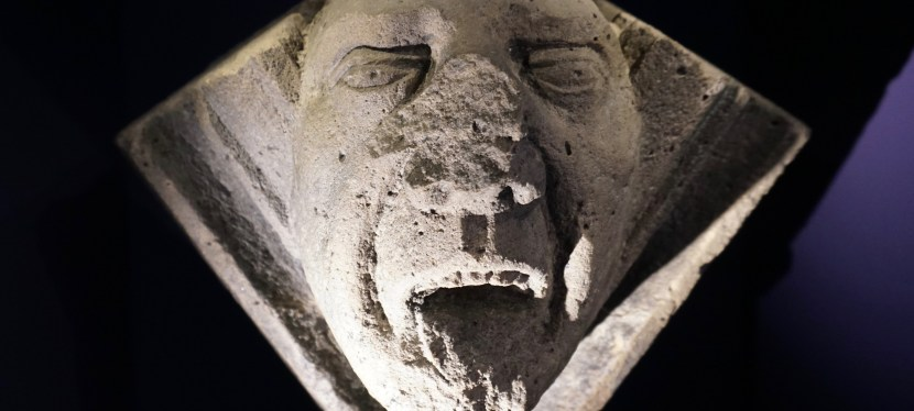 Celebrate Halloween Like a Boss-The Faces of Elgin Cathedral