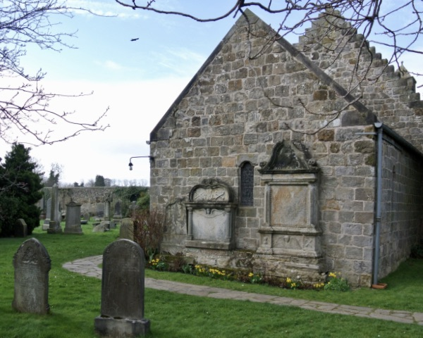 St. Fillan's Church in Aberdour, Scotland.