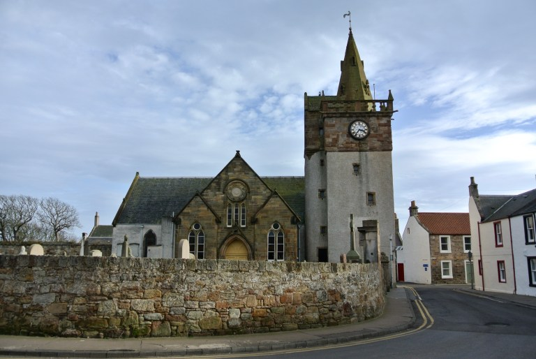 Pittenweem Parish Church in Scotland.