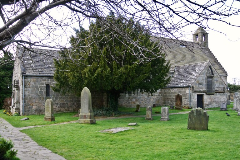 St. Fillan's Church. in Aberdour, Scotland.