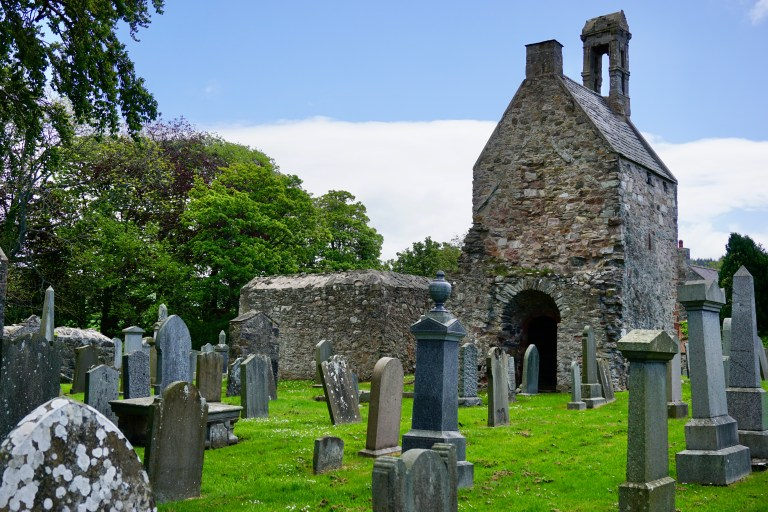Church ruins at St. Talorgan's.