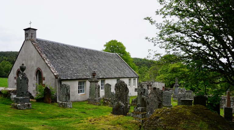 Dunlichity Church and Cemetery.