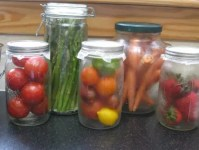 Storing Produce in Glass Is Safe, Healthy, and Beautiful ...