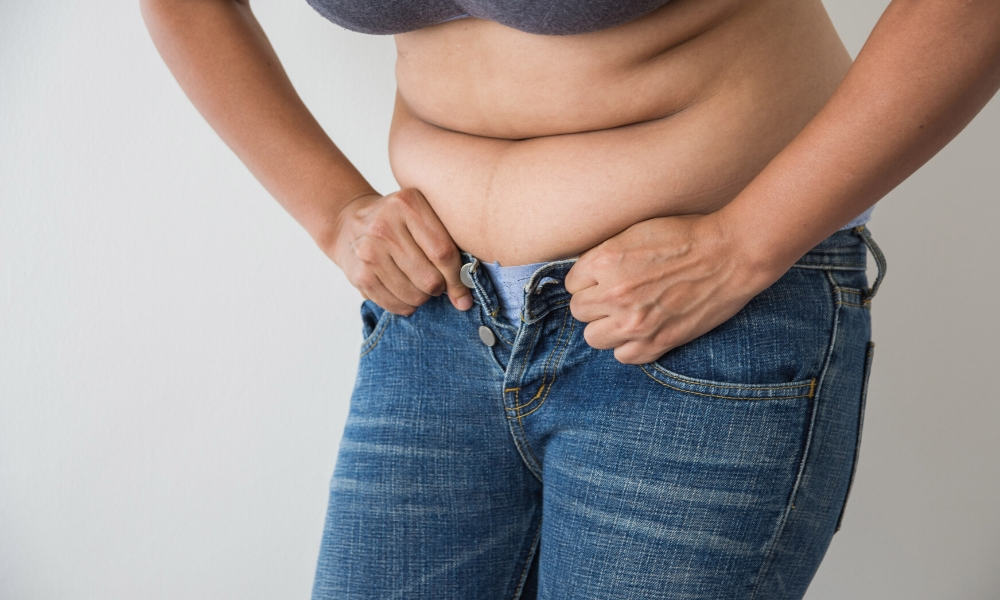 Keto diet reduces abdominal fat