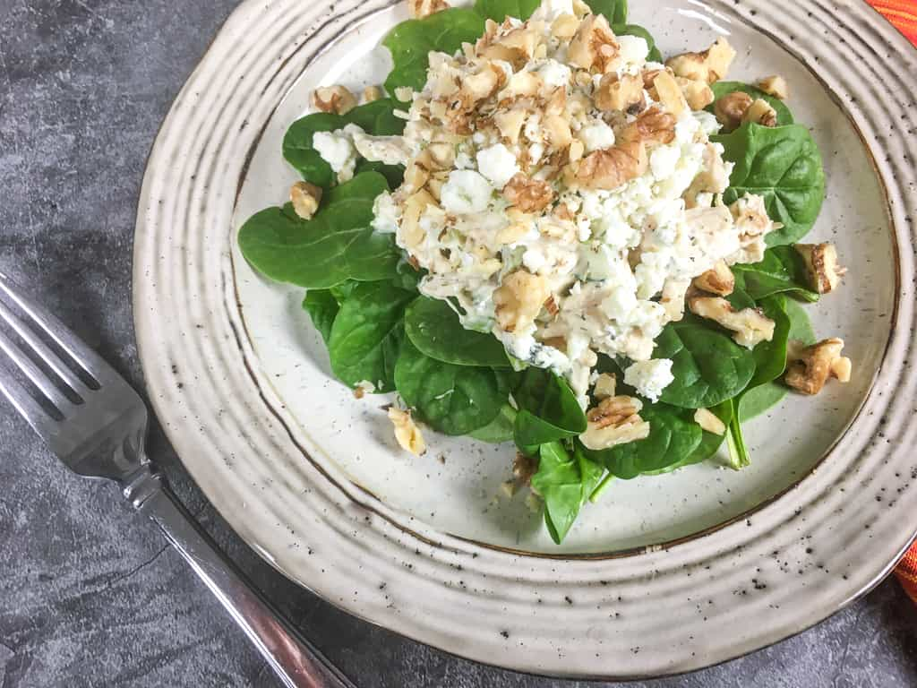 Keto - Low carb chicken salad