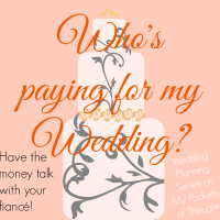 Who pays for the wedding?