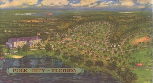 Polk City, Florida - 1925