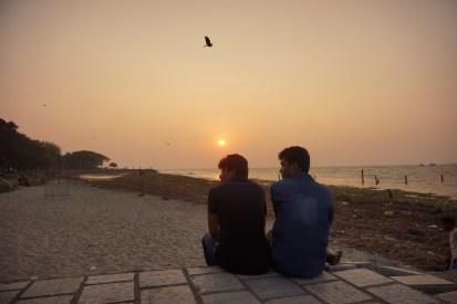 kochi sunset
