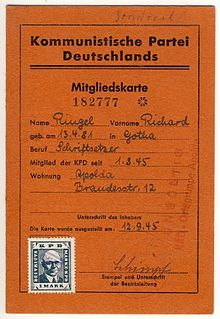 KPD-membership-card