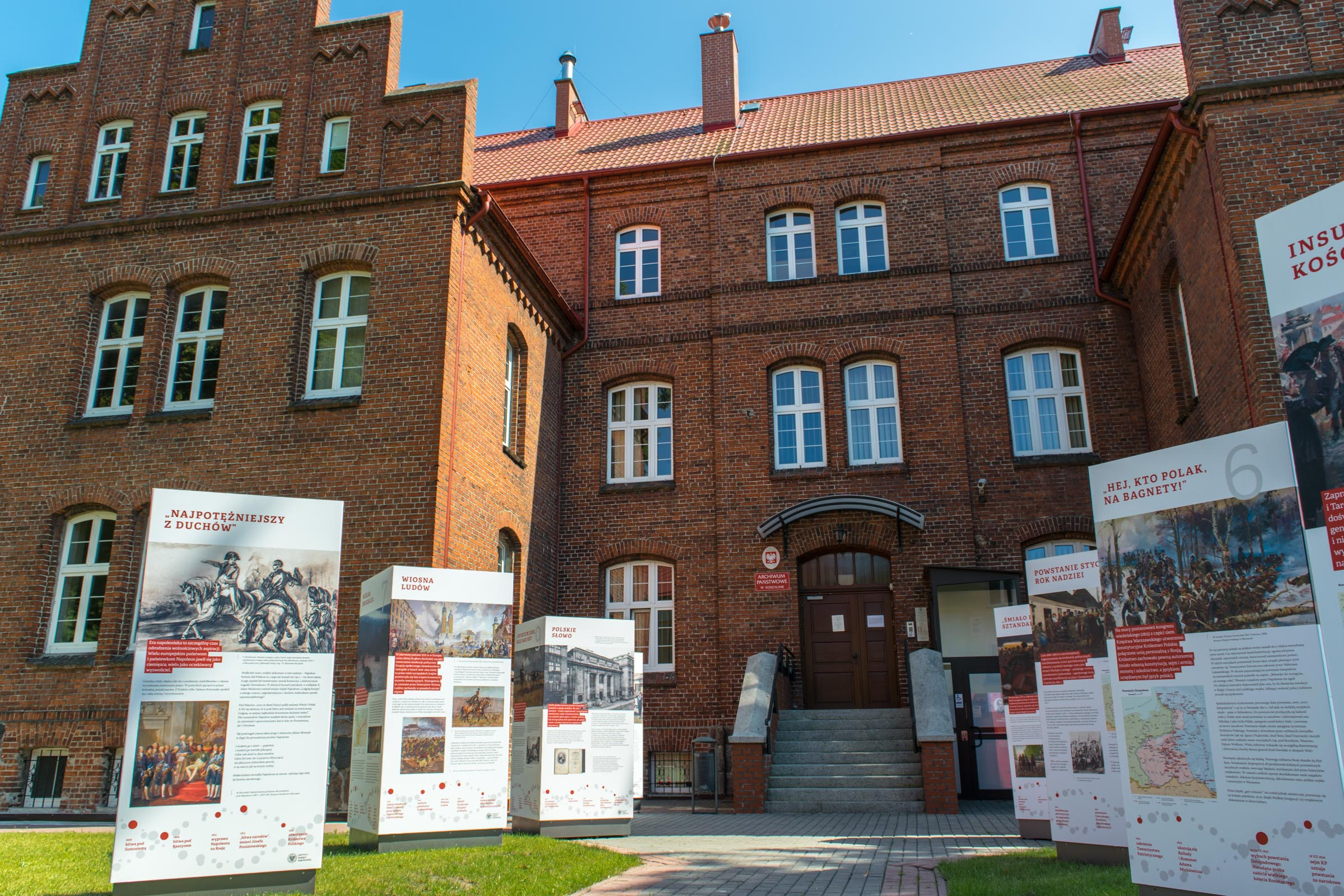 Visiting the State Archives in Koszalin | My Pomerania