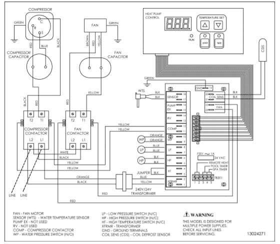 HP21104T wiring diagram