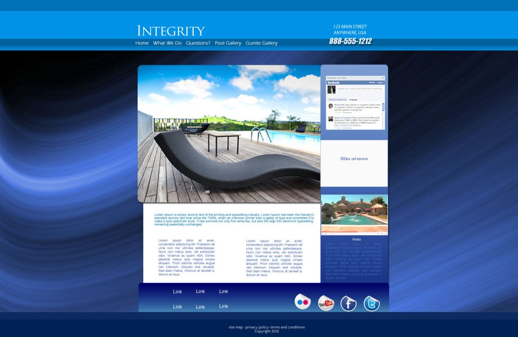 Mystic Flex Website