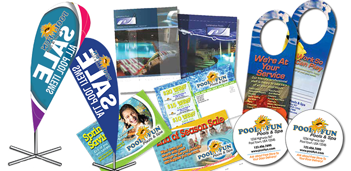 Print Marketing for your Pool Business