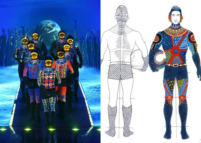 Cirque du Soleil TOTEM cosmonauts