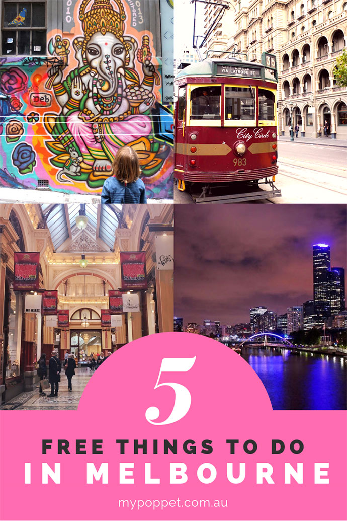 Free things to do in melbourne Australia- mypoppet.com.au